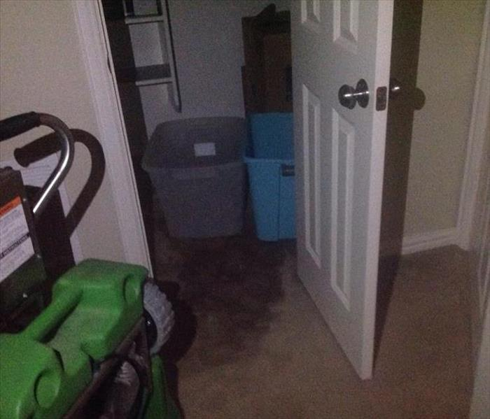 Water Damage in Westlake, TX Before