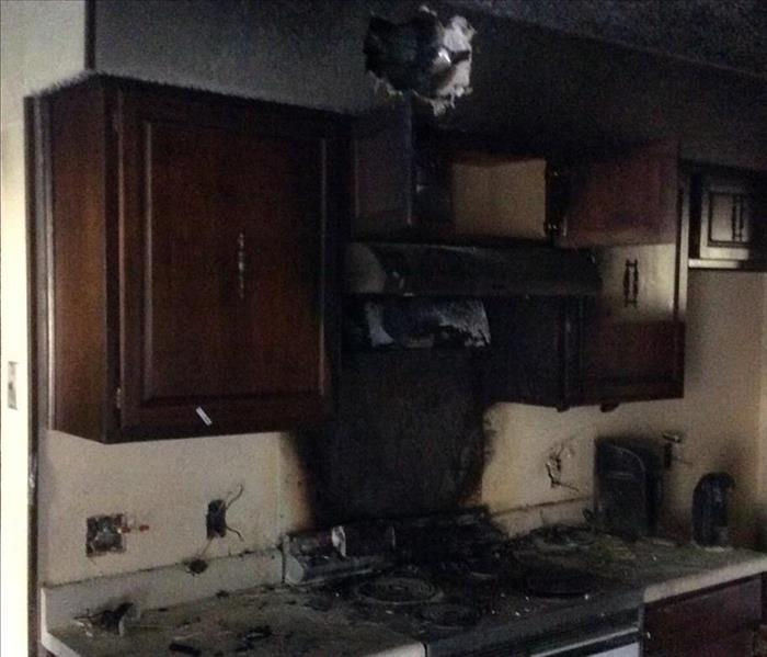 Fire and Smoke Damage - Keller, Texas
